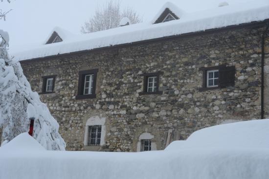 la Fagotiere sous la neige