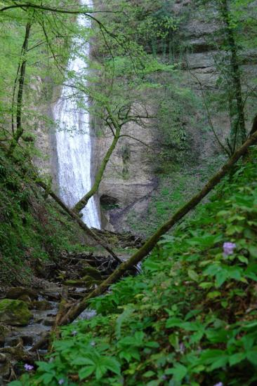 grande cascade des gorges