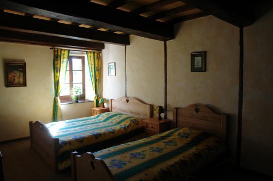 100m² chambre 2 lits