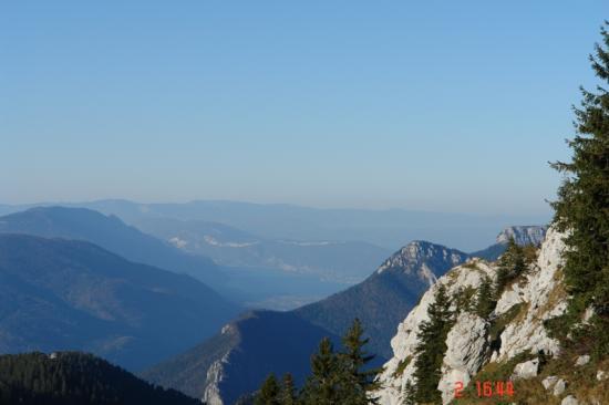 lac du bourg vu du Massif