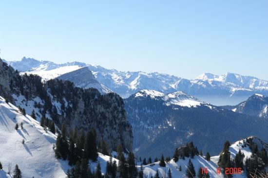 ski de rando prise de Monvernay